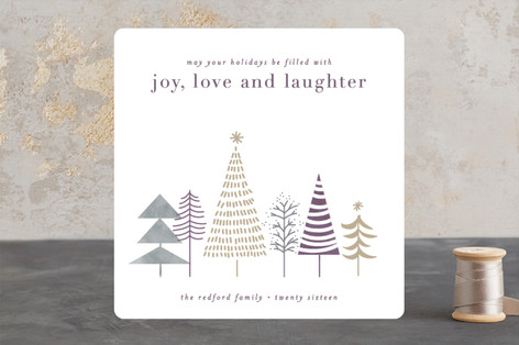 little forrest Holiday Cards