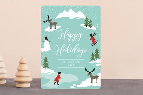 Winter Wonderland Holiday Cards
