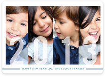 Frosted Windows New Year's Photo Cards