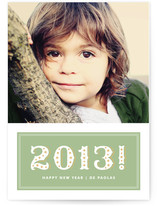 Sparkling New Year New Year&#039;s Photo Cards