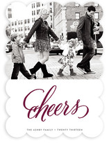 Cheers New Year&#039;s Photo Cards