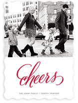 Cheers New Year's Photo Cards