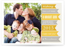New Year Banners New Year's Photo Cards