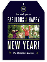 Yacht Club New Year&#039;s Photo Cards