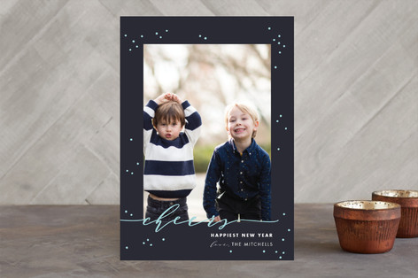 New Year Cheers New Year Photo Cards