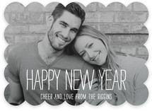 Happiest Homestyle New Year&#039;s Photo Cards