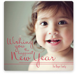 The Happiest Smile New Year's Photo Cards