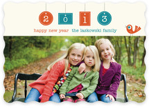New Year Birdie New Year's Photo Cards