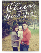 New Year Cheer New Year&#039;s Photo Cards