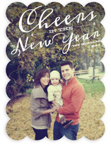 New Year Cheer New Year's Photo Cards