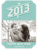 Vintage Beginnings New Year's Photo Cards
