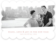 Tilt Classic New Year's Photo Cards