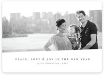 Tilt Classic New Year&#039;s Photo Cards