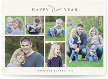 Classic Frames New Year's Photo Cards