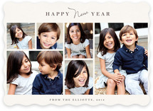 Classic Frames New Year&#039;s Photo Cards