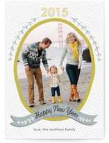 Olive Branch New Year's Photo Cards