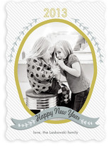 Olive Branch New Year&#039;s Photo Cards
