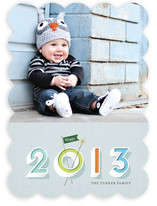Sign & Sparkler New Year's Photo Cards