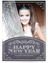 Chalkboard 2013 New Year's Photo Cards