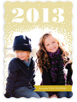 Glittering 2013 New Year&#039;s Photo Cards