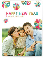 Festive New Year's Photo Cards