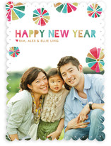 Festive New Year&#039;s Photo Cards