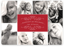 Classic Collage New Year's Photo Cards