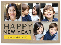 Bubble Talk New Year&#039;s Photo Cards