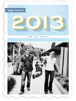 A Bold New Year New Year's Photo Cards