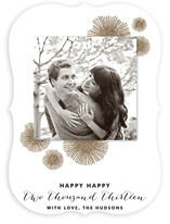 Bursting Glitter New Year&#039;s Photo Cards