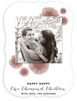 Bursting Glitter New Year's Photo Cards