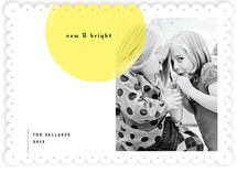 Simply Bright New Year&#039;s Photo Cards