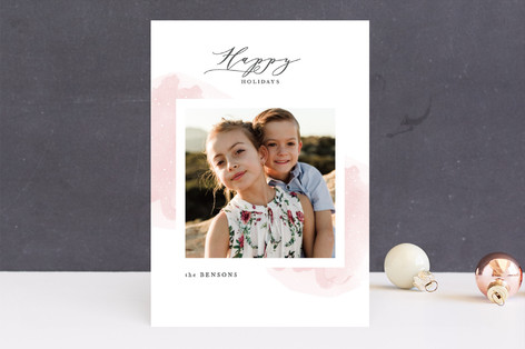 Glimmering year New Year Photo Cards