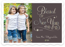 Blessed New Year New Year's Photo Cards