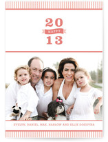 Bold 2012 New Year's Photo Cards