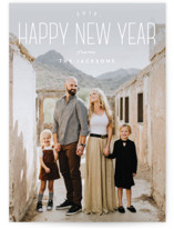Tallest New Year New Year Photo Cards