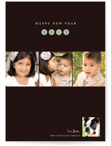 New Year Portraits New Year's Photo Cards