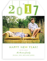 New Year Gift Tag New Year's Photo Cards