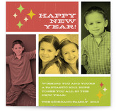 Retro Album New Year's Photo Cards
