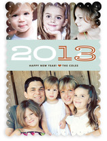 Hip New Year New Year&#039;s Photo Cards