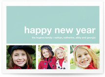 Modern Joy New Year&#039;s Photo Cards
