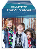 Ribbons New Year&#039;s Photo Cards