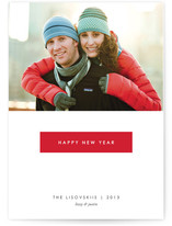 Gallery New Year&#039;s Photo Cards