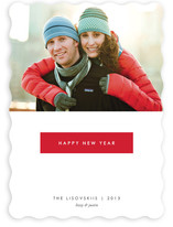 Gallery New Year's Photo Cards