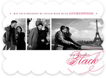 Love &amp; Happiness New Year&#039;s Photo Cards