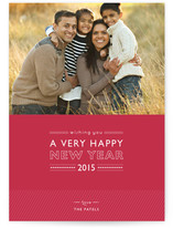 Layered Cake New Year&#039;s Photo Cards