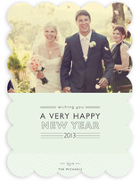 Layered Cake New Year's Photo Cards