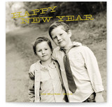 Tilted New Year New Year's Photo Cards