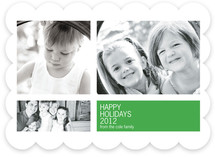 Modern Geometric Group New Year's Photo Cards
