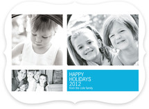 Modern Geometric Group New Year&#039;s Photo Cards